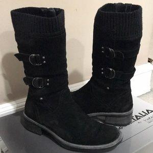 Aquatalia Black Suede Boot